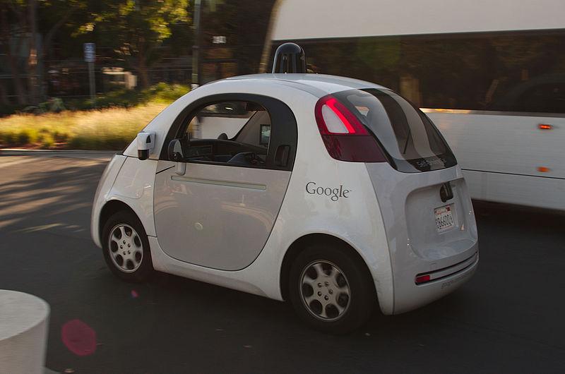 voiture autonome Google car